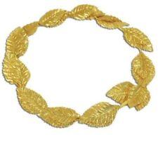 Gold Leaf Laurel Roman Greek Goddess Wreath Headpiece Toga Fancy Dress Costume