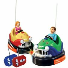 As Seen On TV Remote Control Battery Powered Bumper Cars Game -Minor Damaged Box