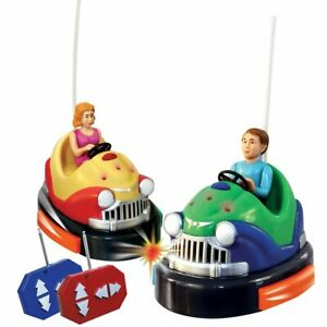 As Seen On TV Remote Control Battery Powered Bumper Cars Game - Damaged Box