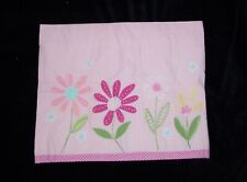 Pottery Barn Kids Daisy Garden Valance Pink
