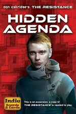 The Resistance: Hidden Agenda card game expansion (New)