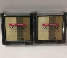 2 X Max Factor Eyeshadow #160 Baja Bronze NEW.