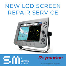 Raymarine E & C series NEW LCD Screen Replacement Repair Service | 3 YR WARRANTY