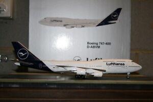 Gemini Jets 1:200 Lufthansa Boeing 747-400 D-ABVM (G2DLH792) Model Plane