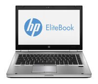 HP EliteBook 8470p Laptop PC Windows 10 8gb RAM 320gb HD Intel Core I5 2.6ghz