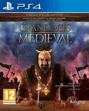 GRAND AGES - MEDIEVAL For PAL PS4 (New & Sealed)