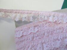 elastische Rüsche - 20 mm - rosa