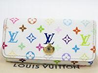 Authentic Louis Vuitton Multicles 4 key holder multicolor France r70188