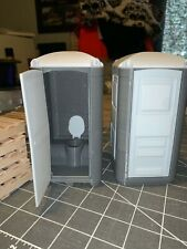 1/14 scale Porta Potty  gray Tamiya Semi