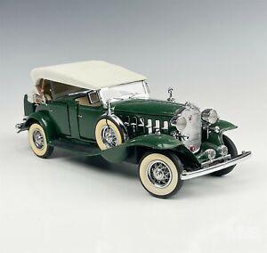 Franklin Mint Precision Model 1907 Rolls Royce Silver Ghost 1:24 Toy Car COA JAB