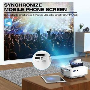 proyector para iphone iOS Samsung android celular Laptop Computadora PC mini