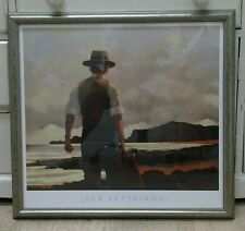 The Drifter by Jack Vettriano Deluxe Framed Art Print