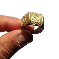 EXTREMELY ANCIENT RARE ROMAN BRONZE RING LEGIONARY VERY OLD ARTIFACT AUTHENTIC