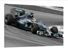 Lewis Hamilton 30x20 Inch Canvas - Mercedes Framed Picture F1 Formula One