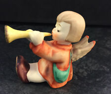 Goebel Hummel Porzellan Figur 238 C  Engel mit Trompete Hummelfigur Krippe