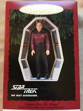 Hallmark Star Trek Keepsake Ornament Captain Jean-Luc Picard 1995 New Price