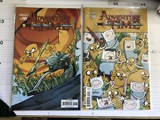 Adventure Time #50 Cover A & Jorge Corona Subscription Both NM Free Shipping