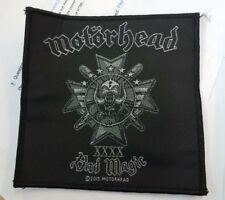 MOTORHEAD PATCH NEW  RARE COLLECTABLE WOVEN ENGLISH IMPORT LEMMY