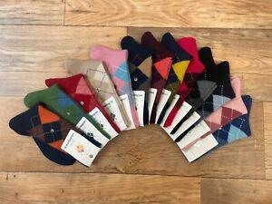 Burlington Ladies Whitby Argyle Socks