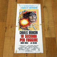 10 SECONDI PER FUGGIRE locandina poster Breakout Charles Bronson Duvall K19
