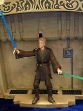 Star Wars Saga E2 AOTC Anakin Skywalker Hangar Duel figure loose, complete