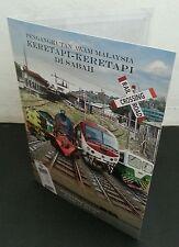 Malaysia Public Transport Train In Sabah 2015 Locomotive Railway (folder Limited