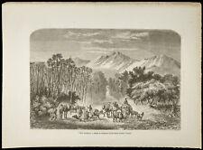 1860 - Valley D'Auderaz - Engraving