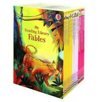 NEW Usborne My Reading Library Fables 30 Books Collection Kids Book Set