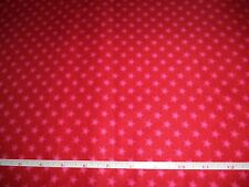 RED STARS FABRIC  -   8 YARDS IN STOCK - BY THE YARD