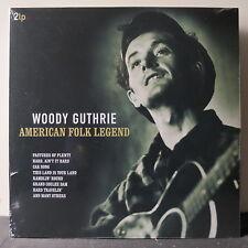 WOODY GUTHRIE 'American Folk Legend' Gatefold Vinyl 2LP NEW & SEALED