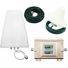 Cell Phone Signal Booster CDMA 850/1900MHz 2G/3G/4G Dual Band Amplifier Repeater