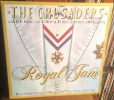 CRUSADERS*B.B.KING royal jam 1982 UK MCA RECORDS STEREO VINYL 2LP
