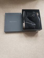 BNIB - Belstaff Trialmaster Black Suede Boots Size 10 (44) (RRP £450)