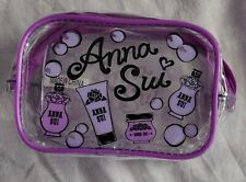 Anna Sui x ASOS Clear Purple Toiletry Bag