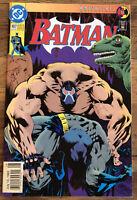 Batman #497 NM 9.4 HI-GRADE! RARE/HTF 2nd Print, Knightfall #11, DC 1993