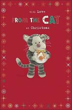 BOOFLE WITH LOVE FROM THE CAT CHRISTMAS CARD NEW GIFT