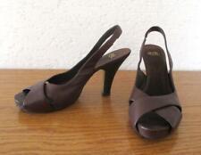 belles chaussures cuir brun marque ASH excellent état Ty 39