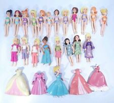 Mattel Polly Pocket Lot Of 21 Dolls Clothes Vintage Fast Free Shipping