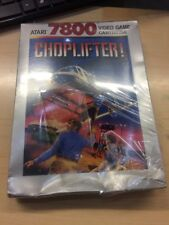 Atari 7800 Choplifter, Factory Sealed, Minor Damage (pictures Provided).