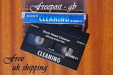 SUPER SONY V8-6CLD Video 8 - 8mm - Hi8 & Digital 8 Head Cleaning Tape / Cassette