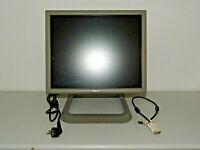 """Dell 1706FPVt 17"""" Monitor Grau, voll funktionsfähig, 2 Jahre Garantie"""