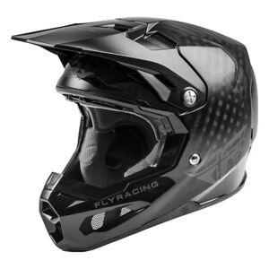 Fly Racing Formula Carbon Kids Motocross Offroad Race Helmet Black Youth