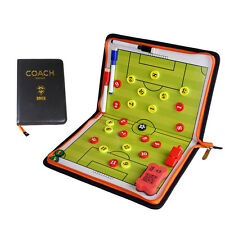 Magnetic Tactics Board Coaches Zipper Training/Game Plan Tactical Board kits