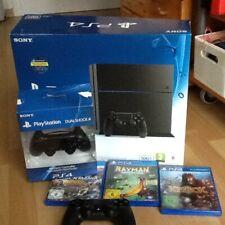 Sony Playstation 4  + 2 Controller und 4 Spielen mit OVP