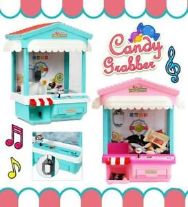 Electronic Claw Machine Candy Catcher 2 Stick Lights & Music Party Fun 43