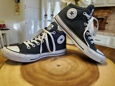 Black Converse High Top Mens Size 4 Womens 5.5