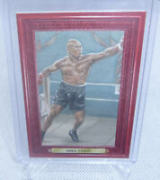 2010 Sport Kings Mecca Boxing Champions Red Frame Mike Tyson Portrait Card #66