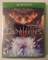 DUNGEONS III  XBOX ONE BRAND NEW & SEALED