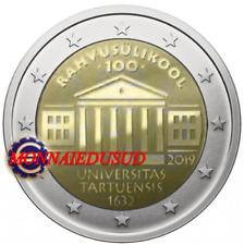 2 Euro Commémorative Estonie 2019 - Université de Tartu UNC NEUVE