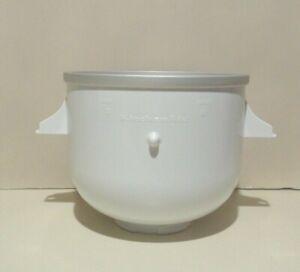Kitchen Aid Ice Cream Maker Bowl for Stand Mixer Maker KitchenAid KICA0WH NEW